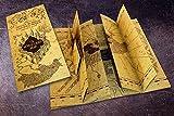 Harry Potter Karte des Rumtreibers Replik (21cm x...