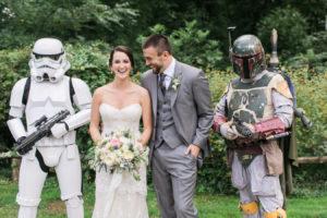 Star Wars Hochzeit