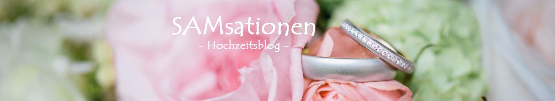- SAMsationen Hochzeitsblog -